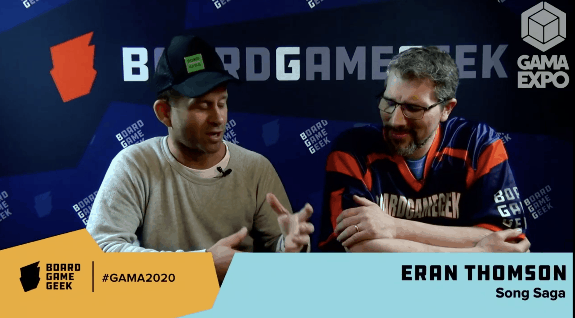 Song Saga on BoardGame Geek, Board Game Geek, GAMA, Eran Thomson, Interview